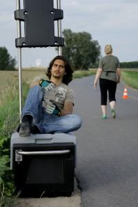 Muhammed  in Setrunner-Pause 'Kameradschaft Eins-Acht'